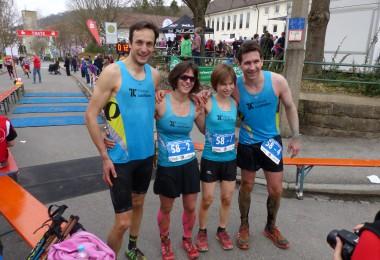 Unser Team bei der Ultra Sports Challenge im Rahmen des Kirnberglaufes