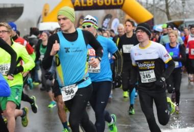 Sieg beim Auftakt zum Albgold-Winterlauf-Cup